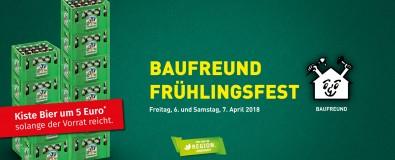 Baufreund Frühlingsfest