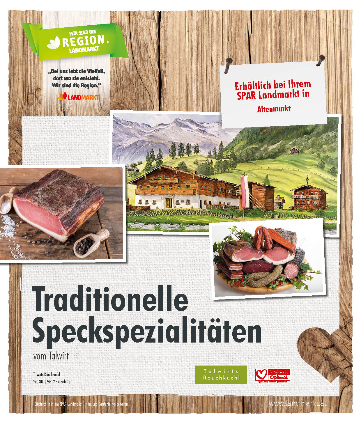 Traditioneller Speck